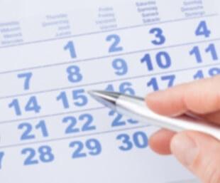 Selling house calendar