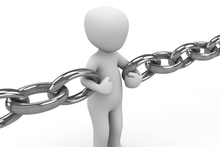Property chain break