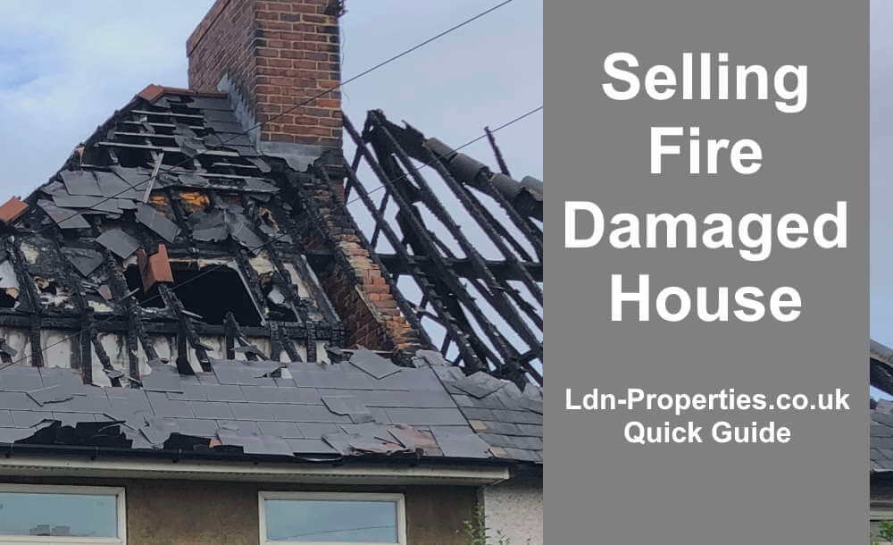 Selling fire damaged house guide
