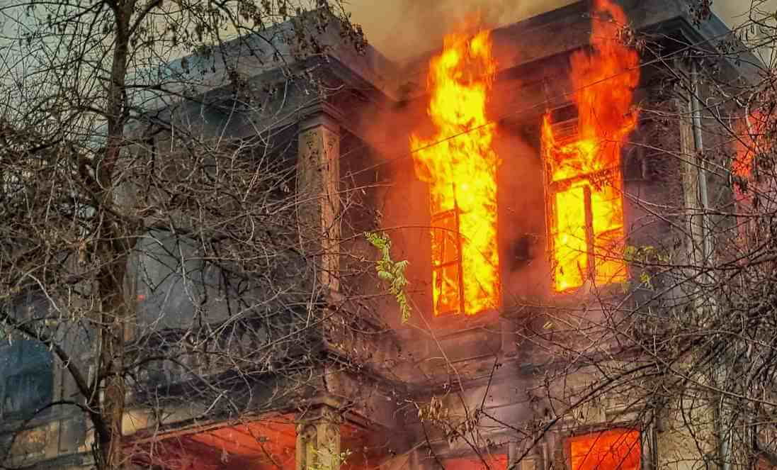 Sell fire damaged property