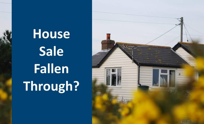 Title image for the house sale fallen through guide