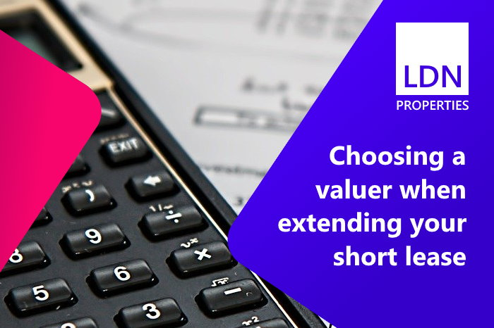 Choosing a valuer when extending your short lease