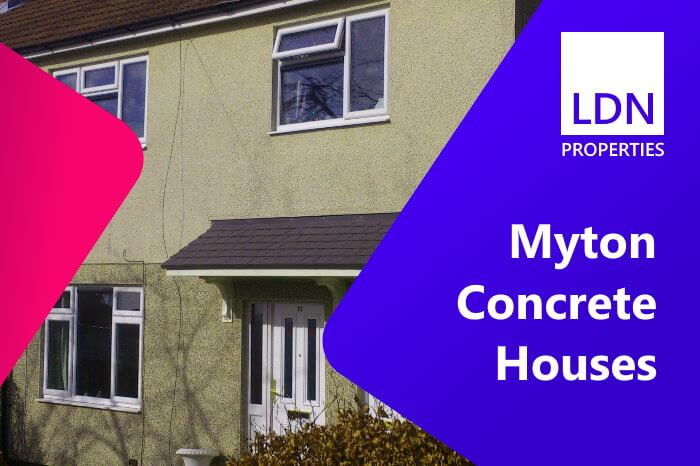 Selling a Myton prefabricated concrete construction house