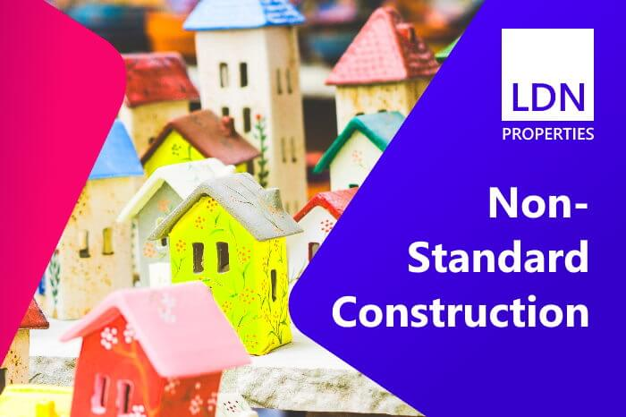 Houses built from non-standard construction are often considered problem properties