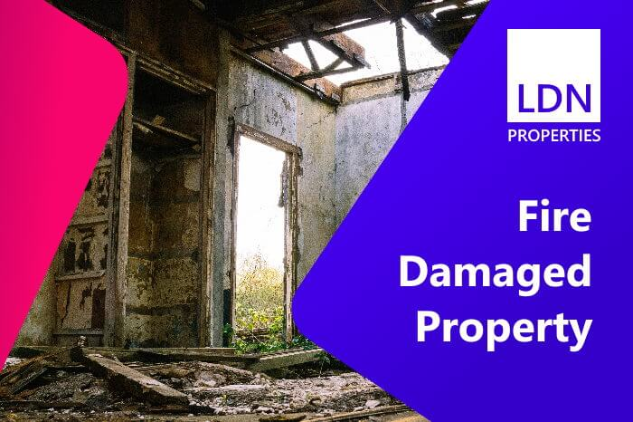A problem property caused by fire damage