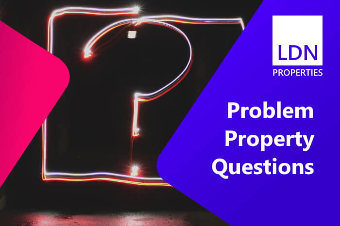 Questions when selling a problem property