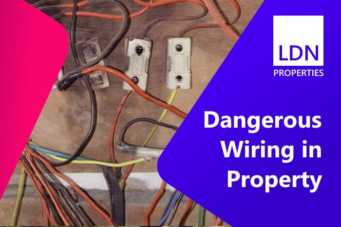 Dangerous wiring can cause problems when selling your home