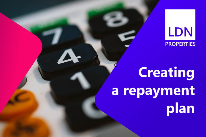 Creating a repayment plan to avoid repossession