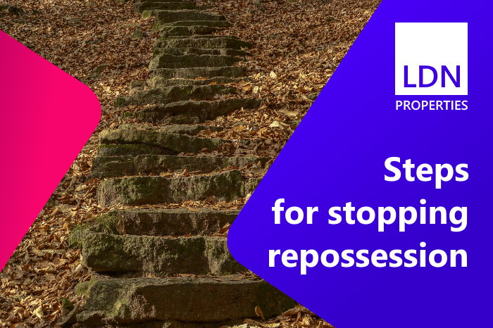 Steps for stopping repossession