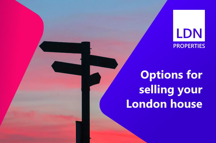 Options for selling your London house or flat