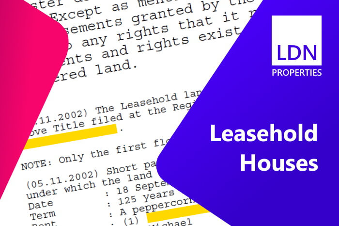 Selling leasehold houses in London