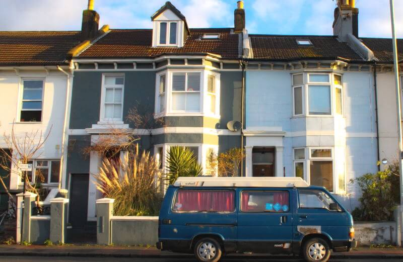 Selling an HMO terraced house property
