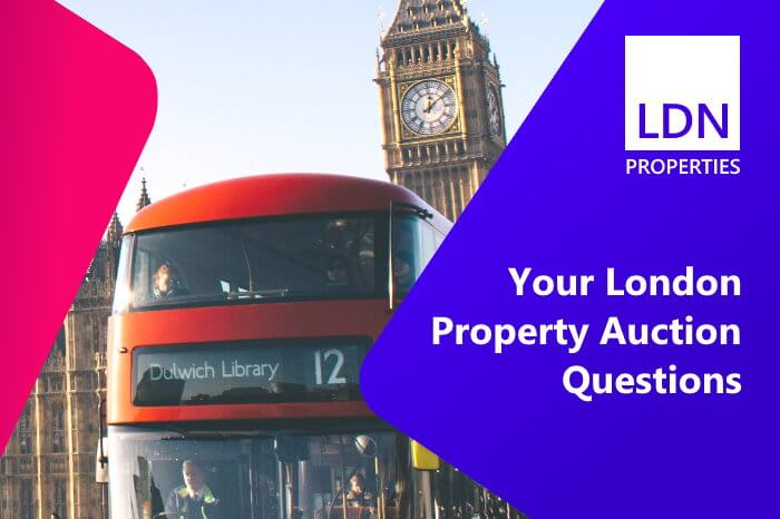 London property auction questions and answers