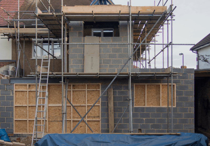 House being built that doesn't yet have buildings regulations approval