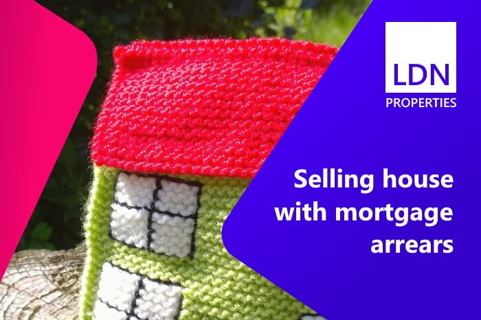 Selling house with mortgage arrears