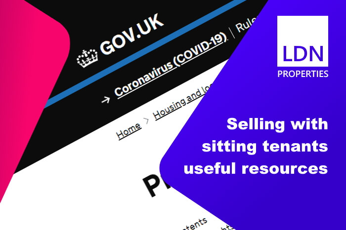 Useful resources when selling with sitting tenants