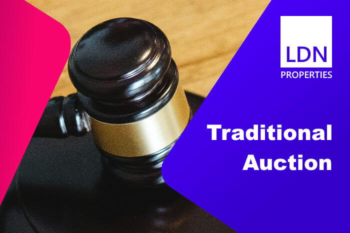 Traditional method of auction