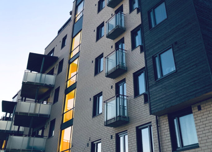 Flats for sale with cladding