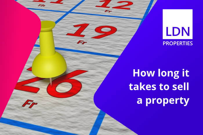 How long it takes to sell a property