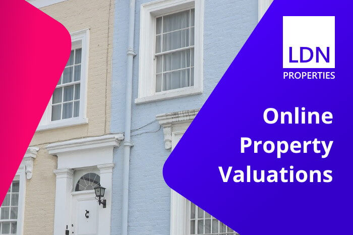 Online property valuations