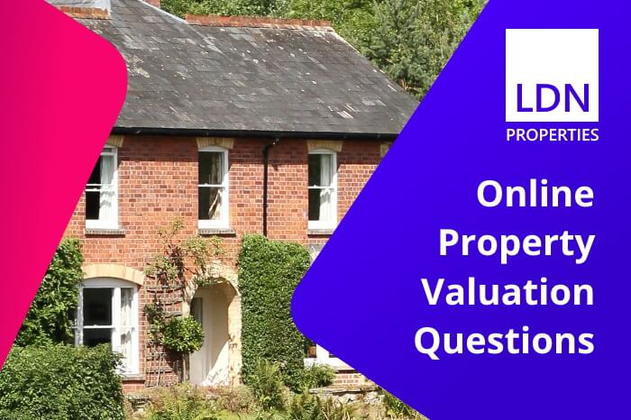Questions about online property valuations