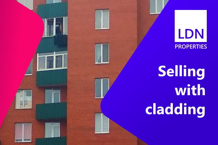 Selling property without cladding