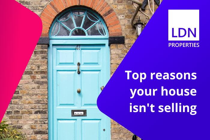 Top reasons your house isn't selling