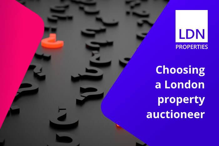 Choosing a London property auctioneer