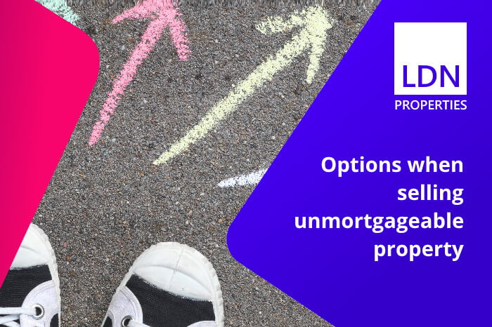 Options for selling unmortgageable property
