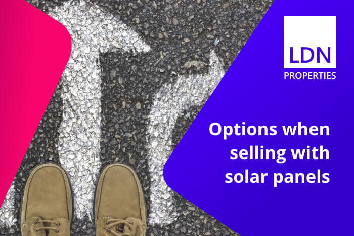 Options when selling house with solar panels