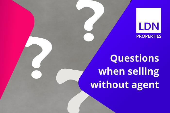 Questions when selling without an agent