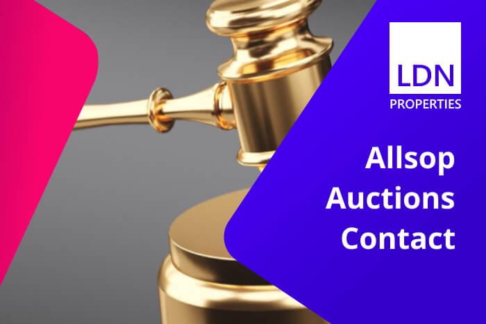 Allsop Auctions Contact