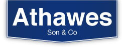 Athawes Son auction - logo