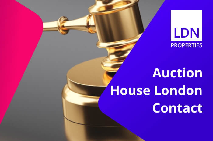 Auction House London Contact