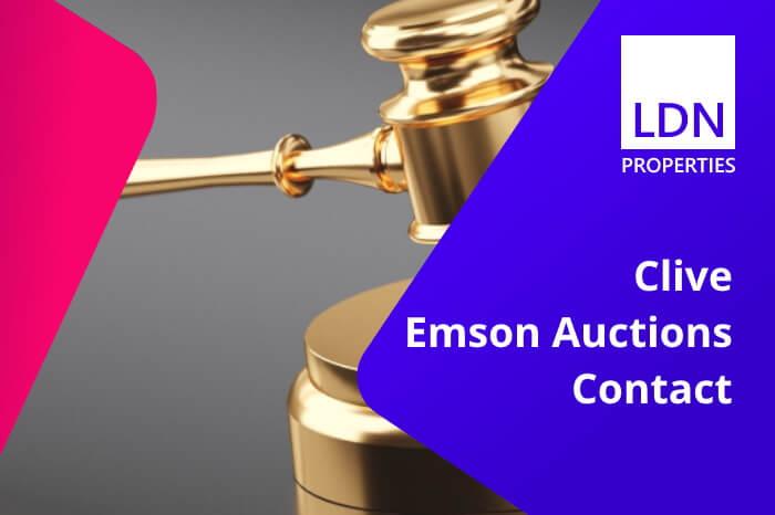 Clive Emson Auctions Contact