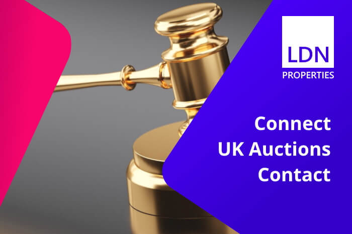 Connect UK Auctions Contact