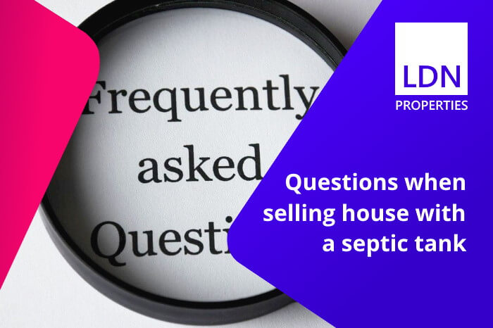 Questions when selling house with septic tank