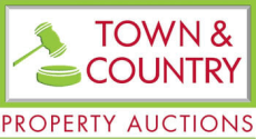 Town and Country Auctions logo